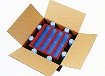 pianka polietylenowa - zabezpieczenie w kartonie